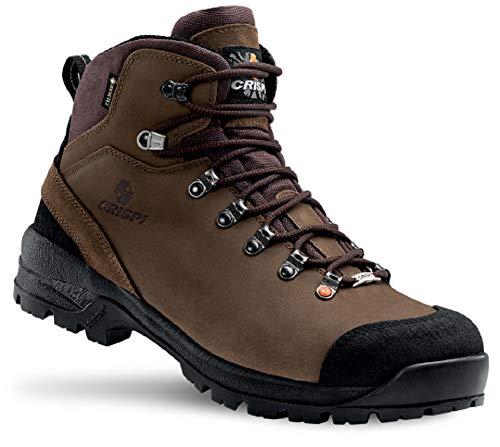Crispi Zapato de seguridad modelo Nevada Legend GTX Forest. Empeine de nobuk. Impermeable. Máxima impermeabilidad y suela amortiguada. 🔥