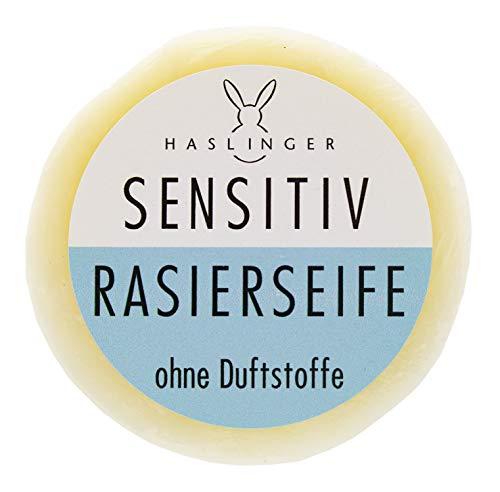 Rasierseife Sensitiv von Haslinger, 60g