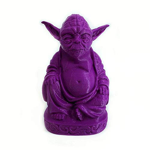 muckychris Yoda Buddha | Star Wars | Purple 6'