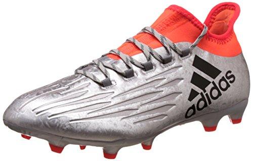adidas adidas Herren X 16.2 FG Fußballschuhe, Silber (Plamet / Negbas / Rojsol), 44 EU
