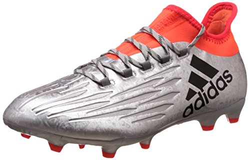 adidas Herren X 16.2 FG Fußballschuhe, Silber (Plamet / Negbas / Rojsol), 44 2/3 EU