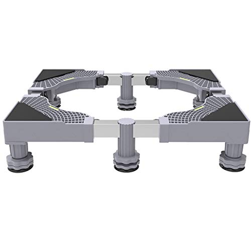 xiaokeai Socle Lave Linge Base de Lavage Fixe Support Universel Réfrigérateur Plateau Base Mobile Épaississement Surélévation Support Base de Machine à Laver (Size : A)