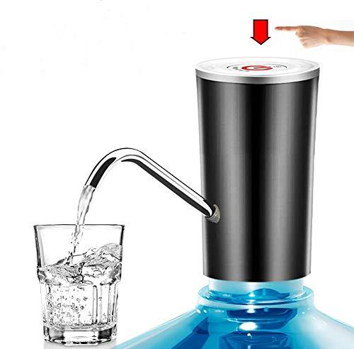 STLOVe Dispensador de Agua, Dispensador de Agua Sistema de Bomba, Bomba de Agua de Carga USB, extraíble, Apto para Usar en Agua embotellada, dispensador de Agua para garrafas