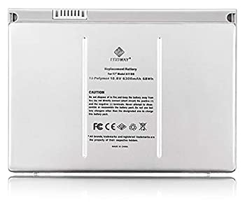 Egoway Replacement Battery Compatible with MacBook Pro 17 inch A1189 A1151 A1212 A1229 A1261  Aluminum Body as Original