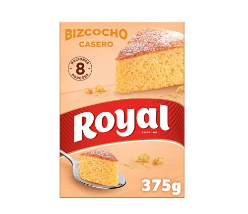 Royal Masa de Bizcocho Esponjoso, 375g
