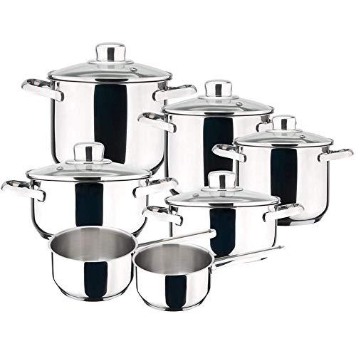 MAGEFESA Dux: Batería de Cocina 12 Piezas