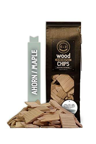 GRILLGOLD Räucherchips Wood Smoking Chips 1,75 Liter - Ahorn