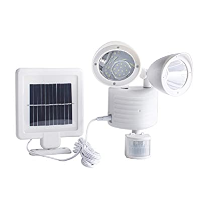 Solar power light dual head