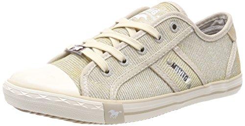 MUSTANG Damen 1099-308-480 Sneaker, Beige (Champagner), 41 EU