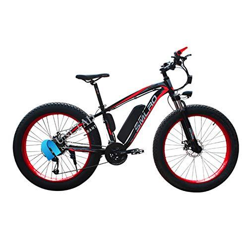 Not application Bici Electrica Adulto Fat Tire Bike Electric Mountain, 48V 1000 W,26 * 4.0Pulgadas Ruedas,con Batería De...