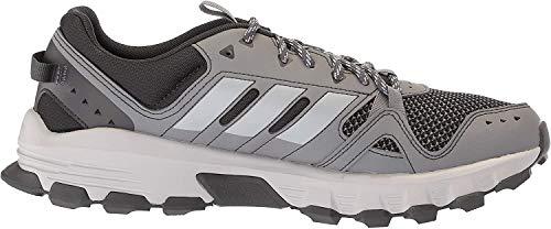 adidas Men's Rockadia Trail Running Shoe, Grey/Grey/Carbon, 11 M US