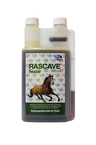 NutriLabs Rascave Hepar Ergänzungsfuttermittel flüssig für Pferde, 1er Pack (1 x 1 l)