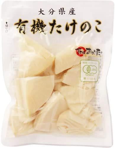 [クローバー食品] 有機たけのこ (水煮/スライス) 100g×2 /大分県産