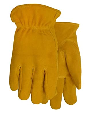 Thinsulate Lined Deerskin Leather Work Gloves