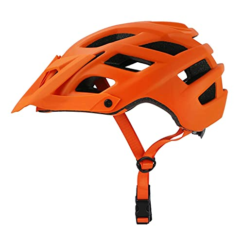 Casco de ciclismo ajustable con visera solar extraíble, mejor ventilación y ligereza, casco de bicicleta deportiva con ventilación en molde y absorbe eficazmente la energía de impacto