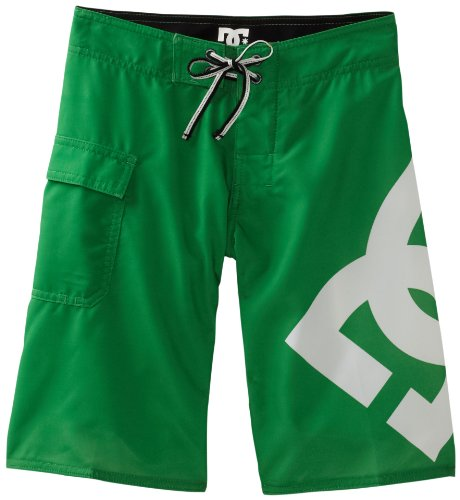 DC Shoes Jungen Lanai Ess4 by Boardshort Badeshorts, Kelly Green, 30