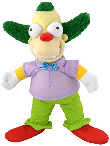 United Labels AG 1001400The Simpsons, Peluche Krusty The Clown, 31cm