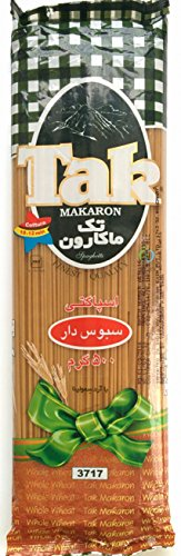 TAK Pasta Spagheti, Whole Wheat, 500g