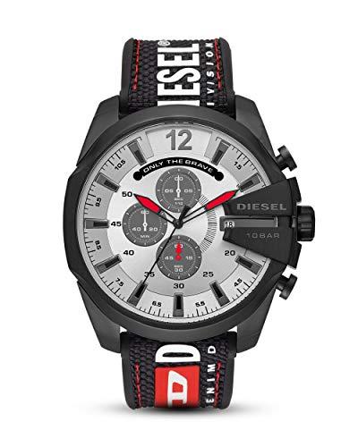 Diesel Reloj Cronógrafo para Hombre de Cuarzo con Correa en Nailon DZ4512