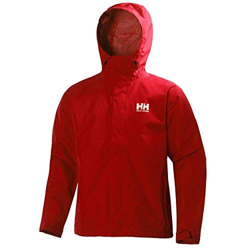 PROTECCI/ÓN Helly Tech Helly Hansen Chaqueta de Abrigo de Capa Media para Mujer Rojo Alerta Dry r/ápido Transpirable