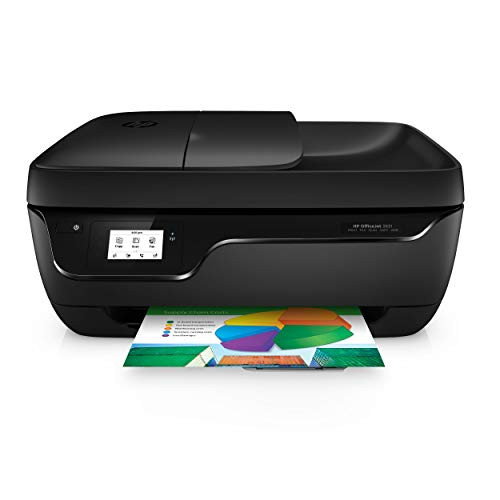 HP Officejet 3831 Multifunktionsdrucker (Instant Ink, Drucker, Kopierer, Scanner, Fax, WLAN, Airprint) mit 2 Probemonaten HP Instant Ink inklusive