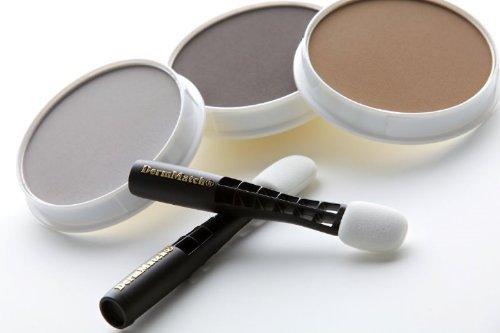 DermMatch Haarausfall Verdickungsmittel & Concealer Farbabstimmung Schwarz