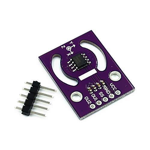 ZJF Componentes de la computadora Accesorios eléctrico MLX90333 Módulo Manija Joystick Sensor Posición Absoluta Ángulo Tres Dimensional Digital