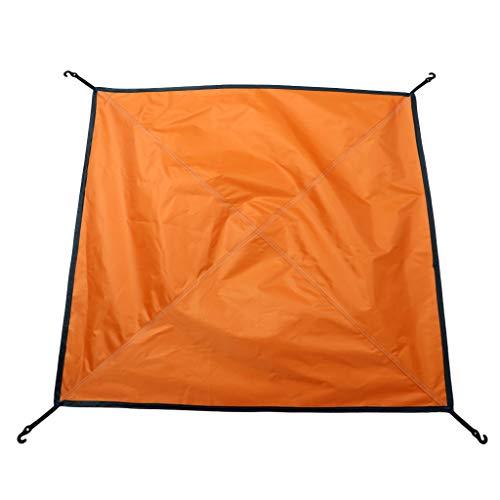 Toldo Ultraligero para Carpa De Mosca De La Lluvia De La Hamaca/Cubierta Portátil del Refugio Que Acampa, A Prueba De Viento, Impermeable Y A Prueba - Naranja