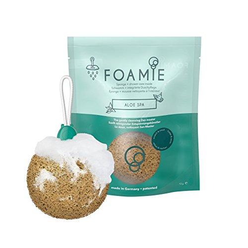 Foamie Aloe Spa – Duschschwamm mit integrierter Duschpflege