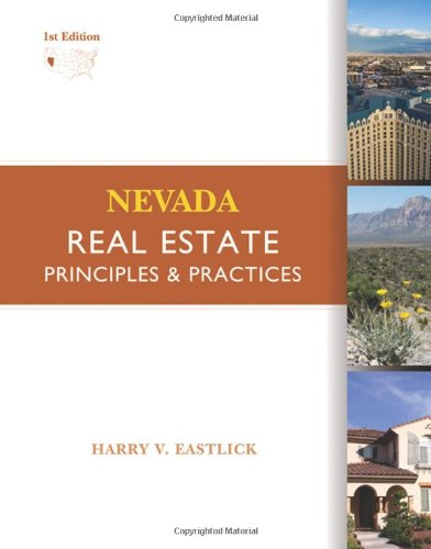 Real Estate Investing Books! - Nevada Real Estate: Principles and Practices