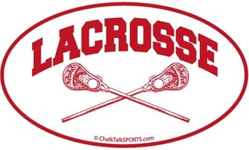 Chicago Mall ChalkTalkSPORTS Guys Ranking TOP11 Lacrosse Car Crossed Lax Magnet Stic