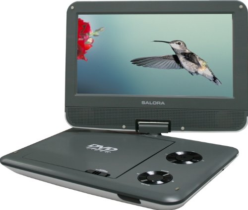 Salora DVP9018SW Reproductor de DVD/bluray portátiles Gris 22,9 cm (9') - Reproductor portátil (Gris, CD,CD-R,CD-RW,DVD,DVD+R,DVD+RW,DVD-R,DVD-RW, 22,9 cm (9'), LCD, 23 cm, 4:3, 16:9)