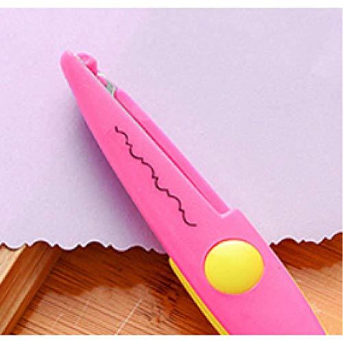 6 inch kinderen ambachtelijke schaar snijden papier Scrapbook Golvend Zigzag puntige kant schaar Kid veiligheid papier rand Diy Handcraft stempel