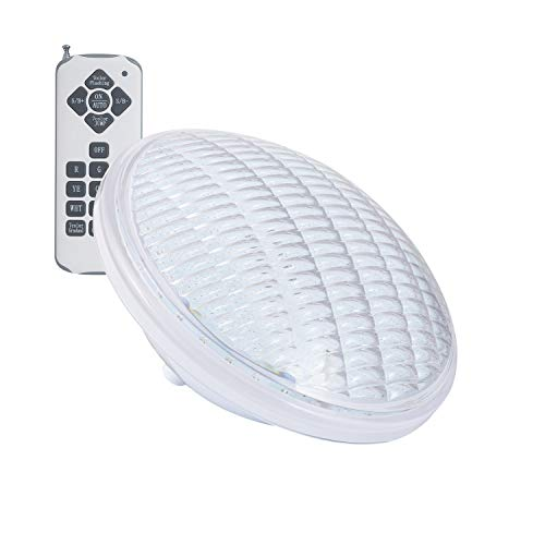 LEDKIA LIGHTING Bombilla LED RGB PAR56 Piscina Sumergible PC IP68 12V AC 18W RGB con mando