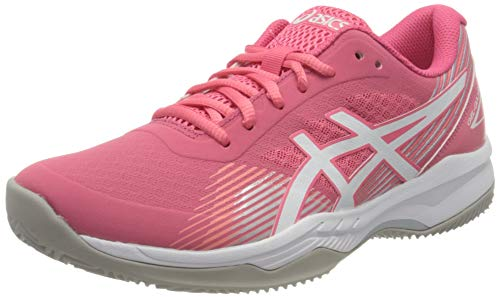 Asics Gel-Game 8 Clay/OC, Tennis Shoe Mujer, Pink Cameo/White, 38 EU