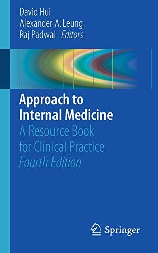 Approach To Internal Medicine 4E
