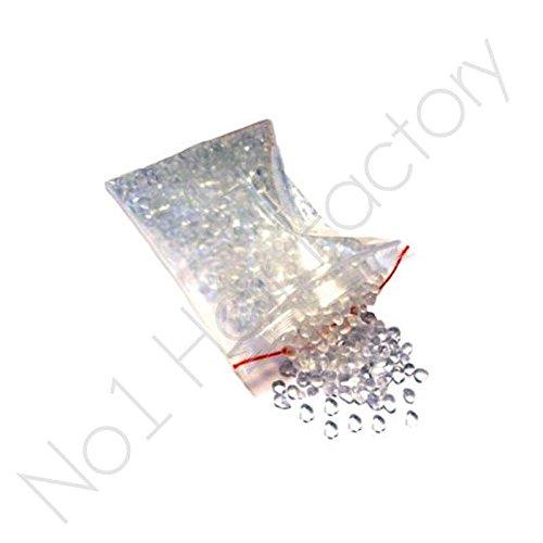 Extension de cheveux colle forte transparent perles 25 grammes pour cheveux Remy
