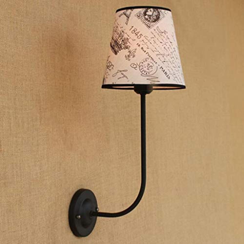 Mariisay Restaurant Nostalgie Bügeleisen Tuch Wandleuchte Schatten Eisen Licht Keine Lichtquelle 48 X 13 5 X 20 Cm (Farbe   Weiße Led-Größe)