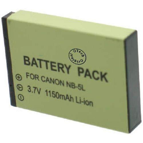 Batería para cámara de fotos Canon Digital IXUS 860IS