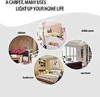 滑り止めのバスルームマット、ベッドルーム、ダイニングルームとキッチン、玄関ウェルカムドアマット、統合されたホームセンターフロア保護マット。-A_50X80CM