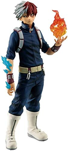 Pop mi héroe Academia Figura Todoroki Shouto Burning Mano Atcion de Figuras coleccionables de PVC Figura Anime for Aficionados Figura de la Estatua