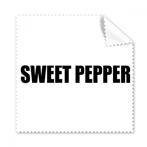 Zoete Peper Groente Foods Bril Doek Schoonmaken Doek Telefoon Scherm Cleaner 5 stks Gift