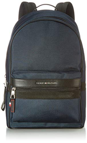 Tommy Hilfiger Herren ELEVATED NYLON Rucksack, Desert Sky, One Size