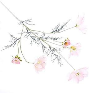 Silk Flower Arrangements loinhgeo-1Pc Artificial Coreopsis Flower Home Party Fake Cosmos Table Centerpiece Decor - Pink