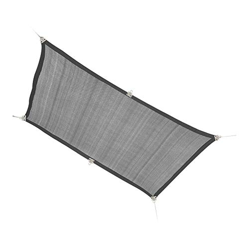 Nologo Shade Sail Rectangular Awning, 95% UV Protection Awning, Carport and Pergola Cover for Outdoor Patios, Gardens, Terraces and Camping (Size : 3x3m)