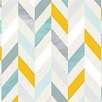 ウォールステッカーステッカー壁紙 多色ヘリンボーンピールとスティックの壁紙の自己接着Prepastedコンタクト紙ウォールミューラルのためにリビングルーム (Color : Herringbone, Dimensions : 3mx45cm)