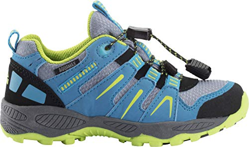 McKINLEY Sonnberg AQX Walking-Schuh, BLUELIGHT/Blue/Green, 37 EU