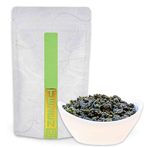 Milch Oolong Tee | Premium Oolong 100 % natürlich, keine Aromen | Hochwertiger Jin Xuan Milky Oolong Tee aus Alishan, Taiwan (100g)