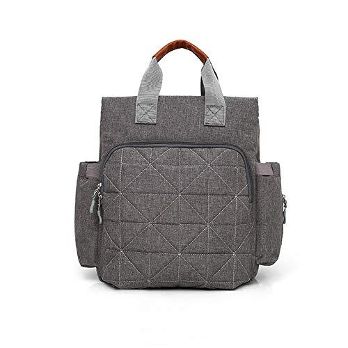 Rugzak voor reistas, koeltassen, mama en papa, voor het onderhoud van de tassen, waterbestendig, multifunctioneel, verkrijgbaar in 1 kleuren, grijs