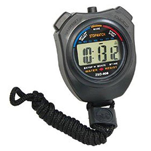 Andux Zone Digital Handheld Cronografo Timer, sveglia,Cronometro digitale con tracolla CS/MB01